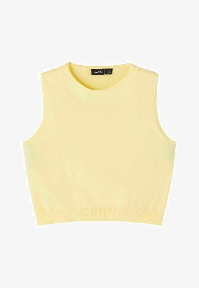 Top - mellow yellow