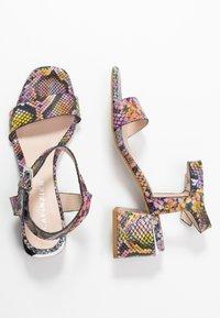 CAFèNOIR - Sandaalit nilkkaremmillä - multicolor/rosa - 3