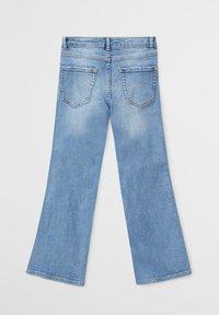 Mango - FLARE - Flared Jeans - středně modrá - 1