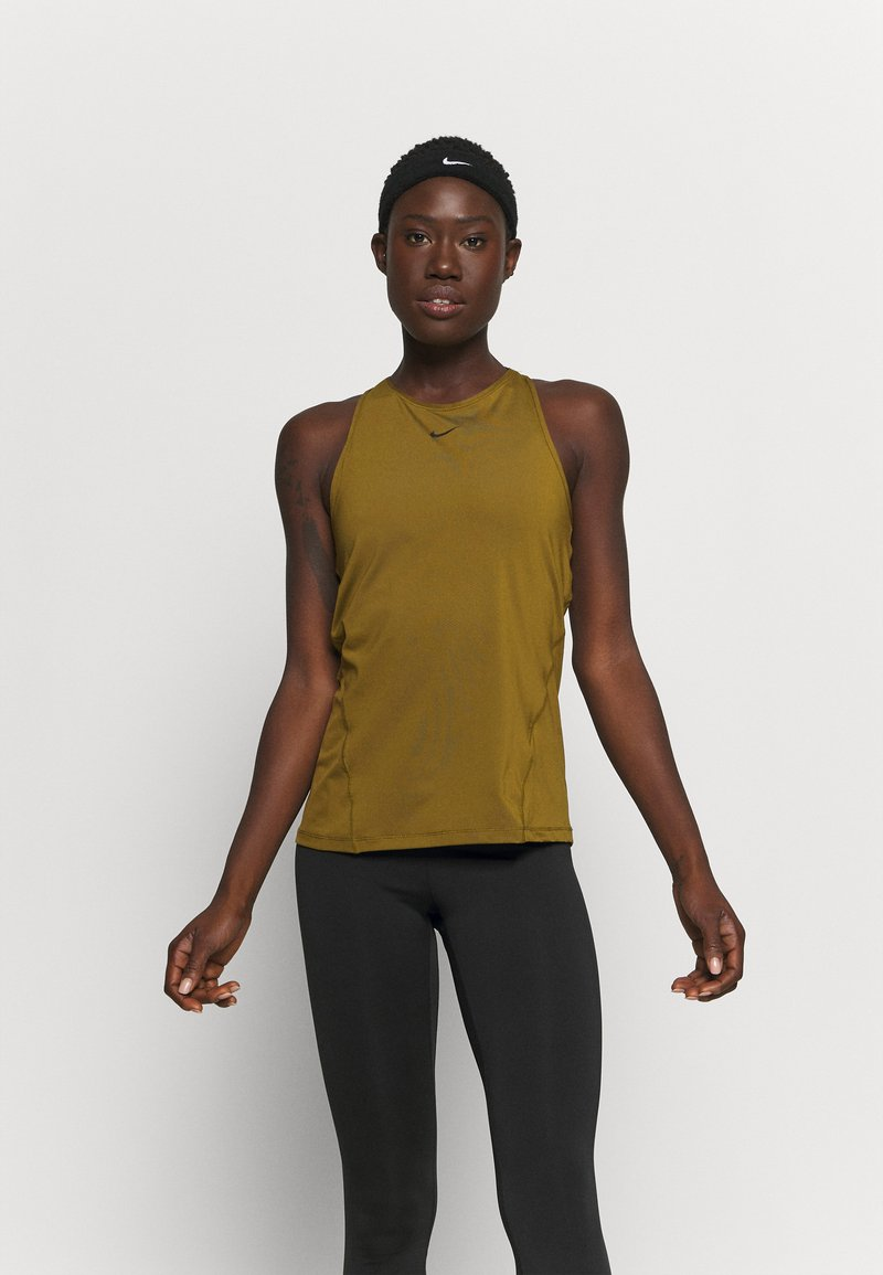 Nike Performance - TANK ALL OVER  - Funktionsshirt - olive flak