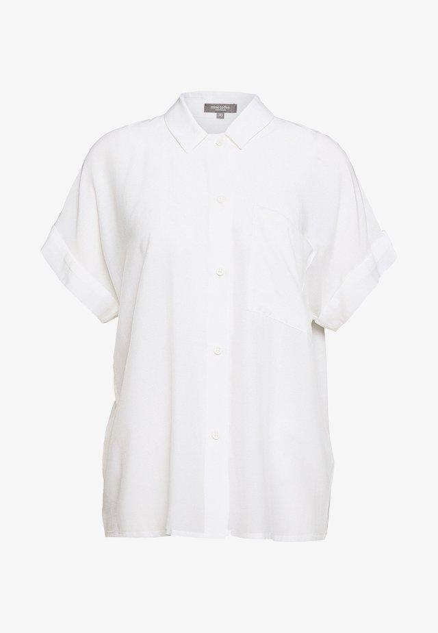 BLOUSE LOOSE FIT - Overhemdblouse - soft ecru