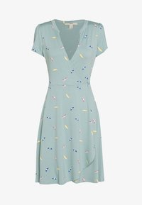 Esprit - DRESS - Jerseyklänning - light aqua green - 0