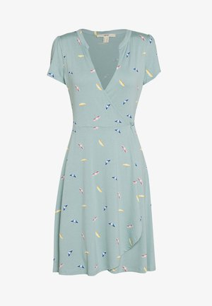 DRESS - Jersey dress - light aqua green