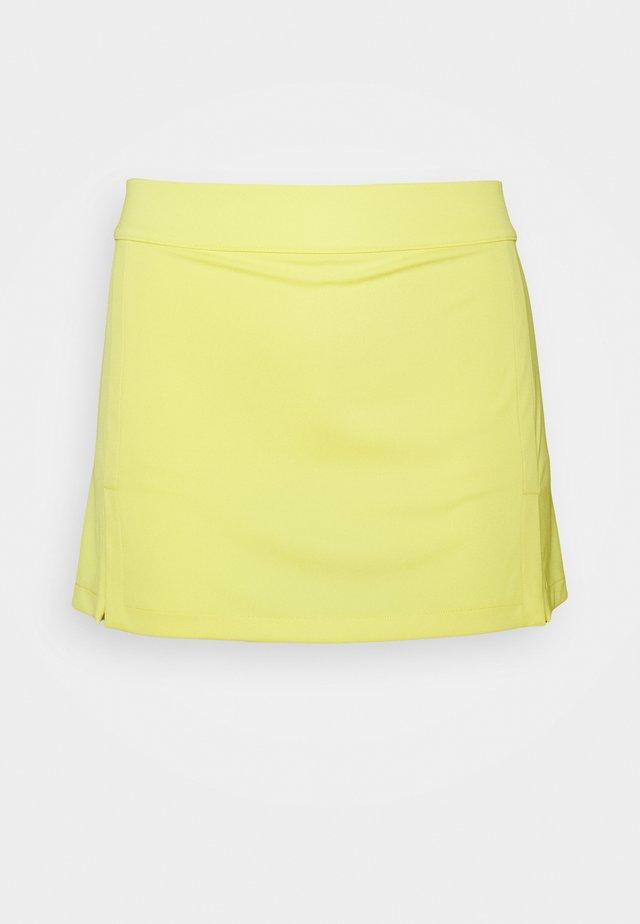 AMELIE GOLF SKIRT - Sportovní sukně - butter yellow
