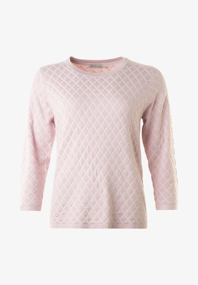 ELAINE - Stickad tröja - wild rose