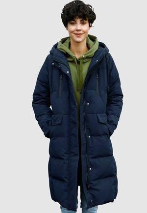 Down coat - marineblau