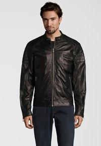 Capitano - IOWA - Leather jacket - black - 0