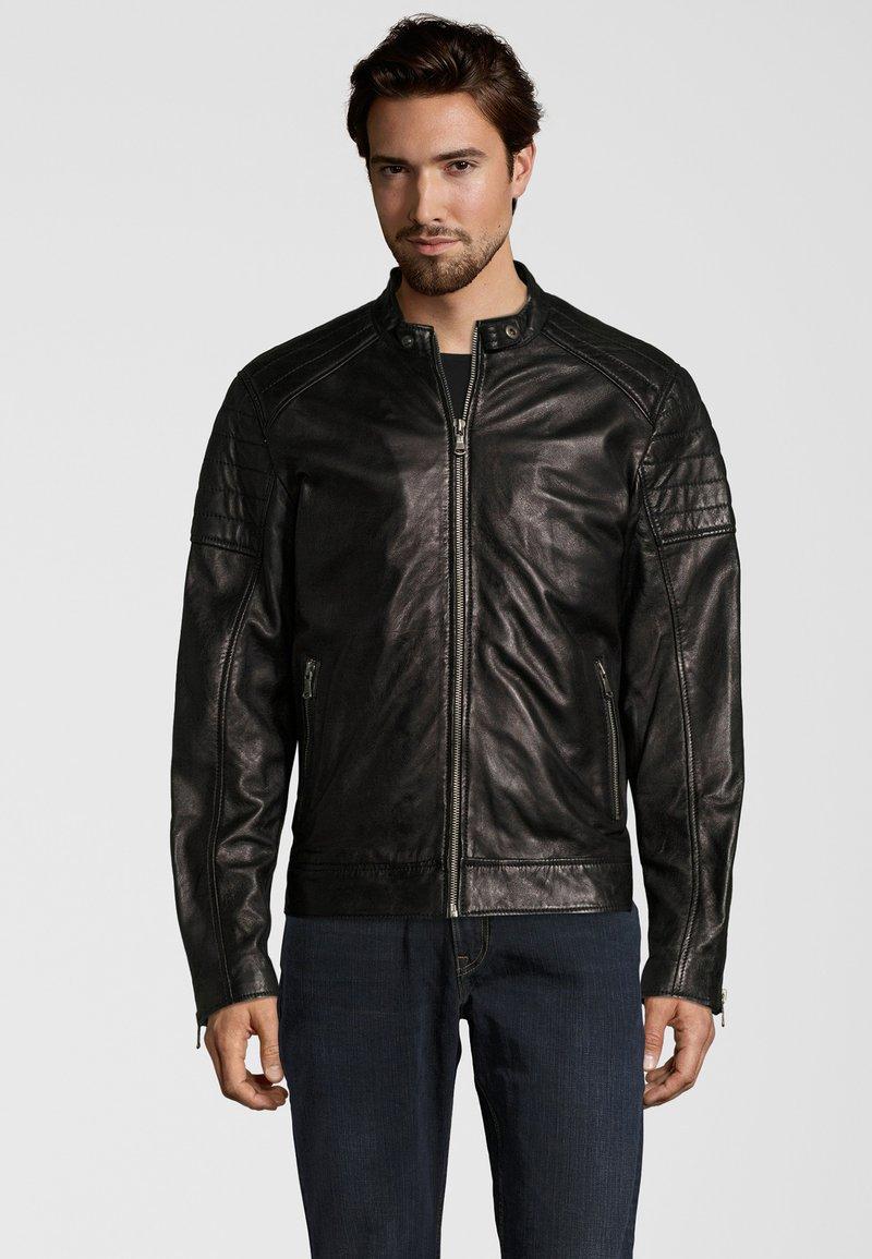 Capitano - IOWA - Leather jacket - black
