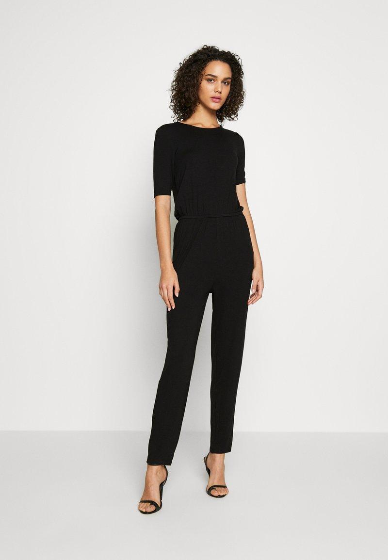 Even&Odd - BASIC - Jumpsuit - Jumpsuit -  black
