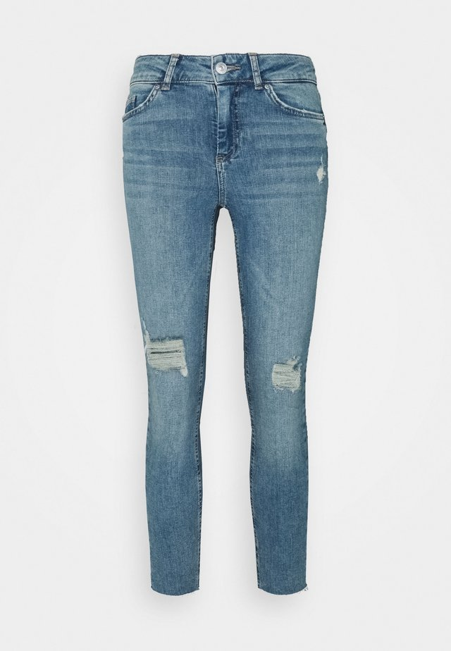 PCDELLY - Jeans Skinny Fit - light blue denim