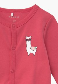 Name it - NBFNIGHTSUIT ALPACA 2 PACK - Kruippakje - claret red - 4