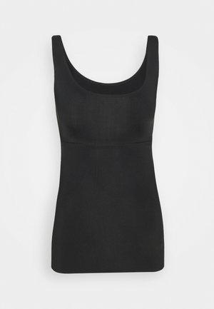 SHEER SHAPING - Undershirt - black