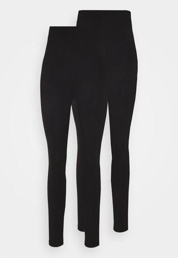 2 PACK HIGH WAISTED LEGGINGS