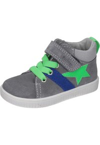 Richter - Touch-strap shoes - stone/flint/new green - 1