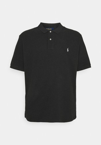CLASSIC FIT MODEL - Poloshirt - black marl heather
