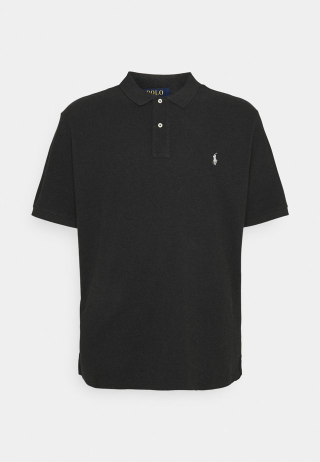 CLASSIC FIT MODEL - Polo - black marl heather