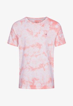 T-shirt imprimé - lachs