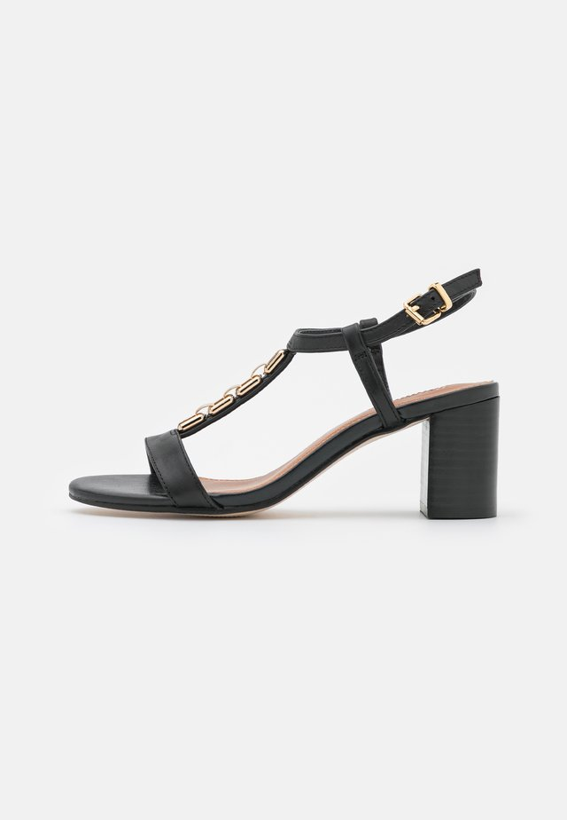 JUST - Sandals - black
