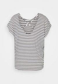 Vero Moda - VMALONA - Basic T-shirt - navy blazer/white - 7