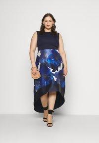 Chi Chi London Curvy - BRAY DRESS - Occasion wear - navy - 1
