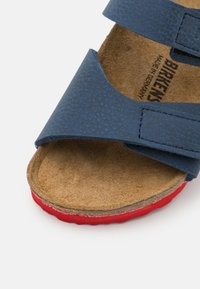 Birkenstock - PALU LOGO  - Sandals - desert soil blue/red - 5