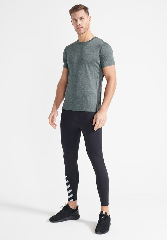Superdry - ACTIVE - Sports shirt - military duck