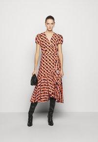 Diane von Furstenberg - VIENNA - Vapaa-ajan mekko - orange - 1