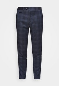 Lindbergh - CHECKED PANTS - Trousers - navy - 0
