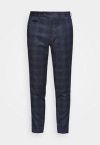 Lindbergh - CHECKED PANTS - Pantalon classique - navy - 0