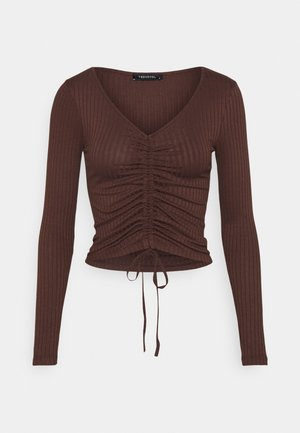 LACIVERT - Long sleeved top - rust