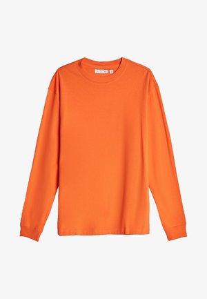 Top sdlouhým rukávem - orange