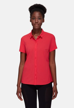 TROVAT LIGHT - Button-down blouse - sunset
