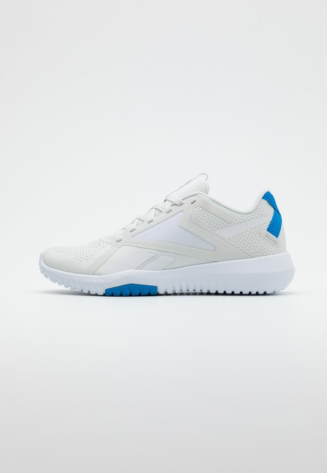 FLEXAGON FORCE 2.0 - Zapatillas de entrenamiento - grey/white/blue