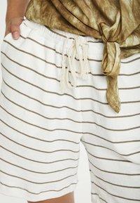 Cream - CRFIA SWEAT - Shorts - timber stripe - 3