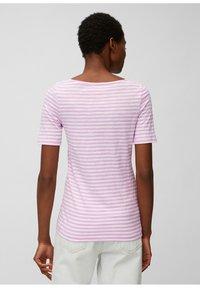 Marc O'Polo - Print T-shirt - mutli/breezy lilac - 2