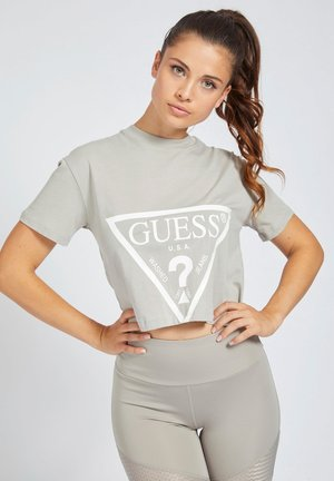 TRIANGOLARE - T-shirt z nadrukiem - grigio