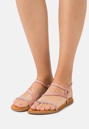 CLARIS - Sandals - rosa