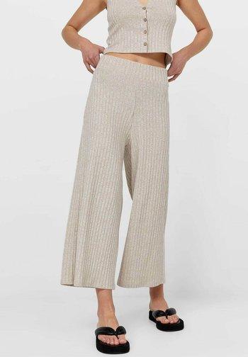 CULOTTE  - Pantalon de survêtement - beige