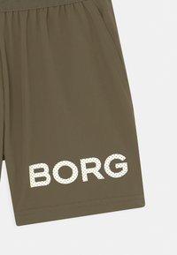 Björn Borg - JR UNISEX - Sportovní kraťasy - olive - 2