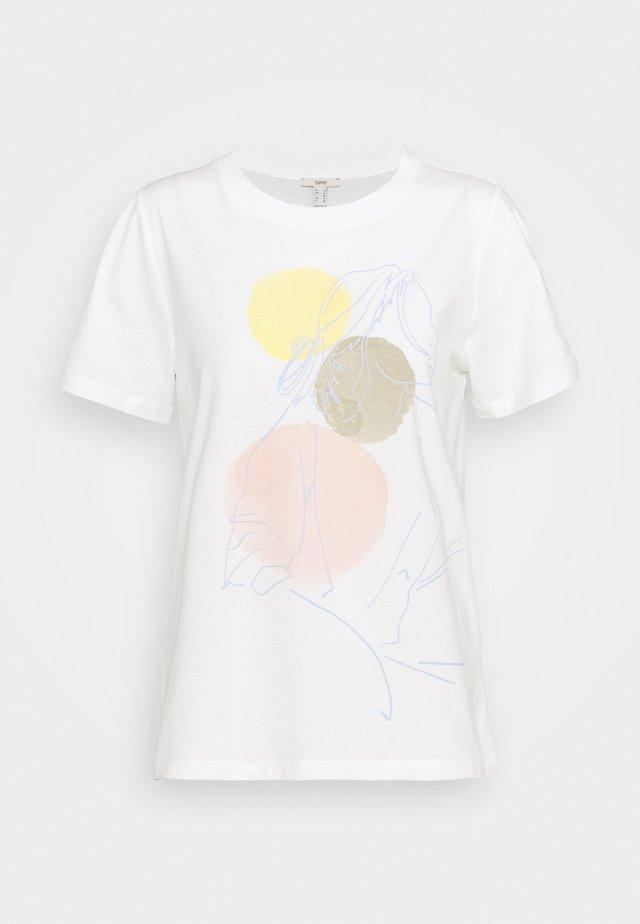 HIGH - Print T-shirt - off white