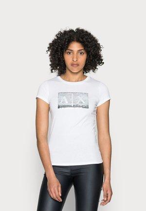 Camiseta estampada - white ground
