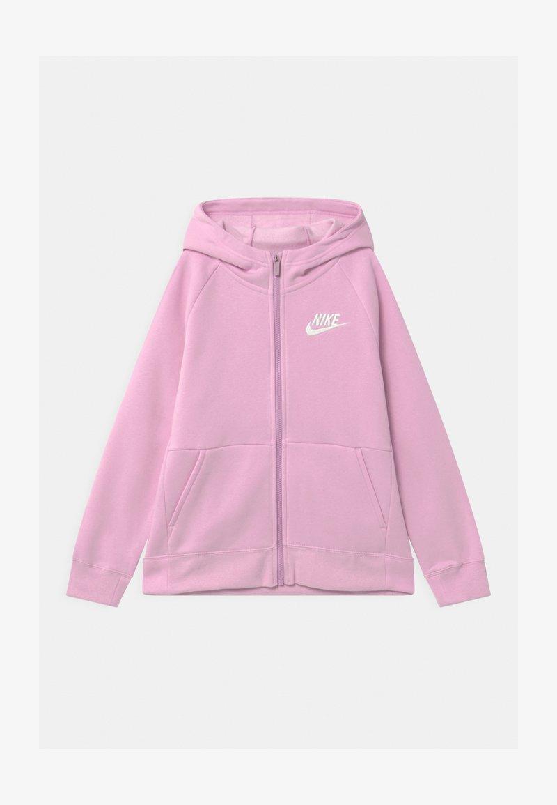 Nike Sportswear - FULL ZIP - Mikina na zip - light arctic pink/white