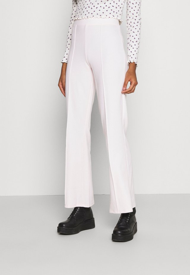 JULIA TROUSERS - Kalhoty - barely pink