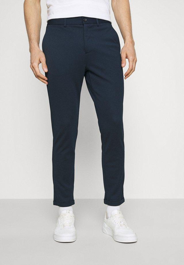 CLUB PANTS - Pantaloni - navy