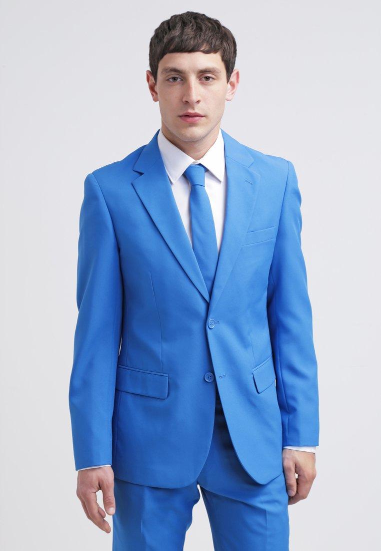 OppoSuits - STEEL - Kostym - blue