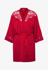 IMPRUDENTE DESHABILLE - Dressing gown - rouge