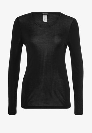 PURE SILK  - Pyjama top - black
