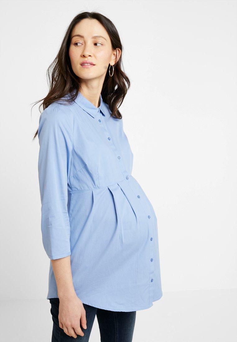 Zalando Essentials Maternity - Button-down blouse - light blue
