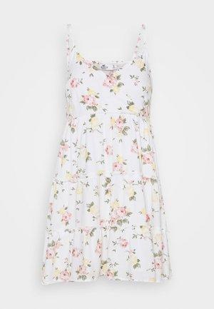 BARE FEMME SHORT DRESS - Vestito estivo - white