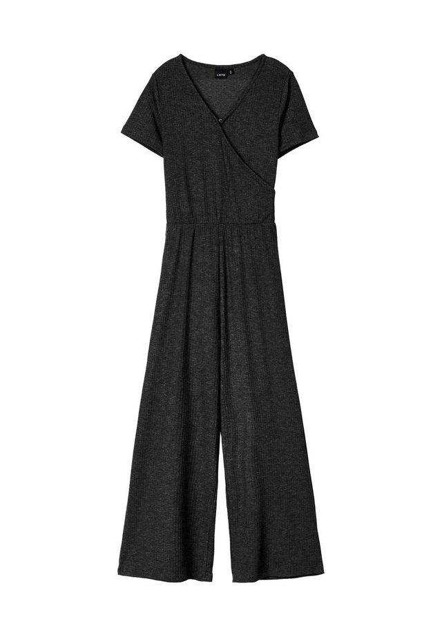SHORT SLEEVED - Jumpsuit - black